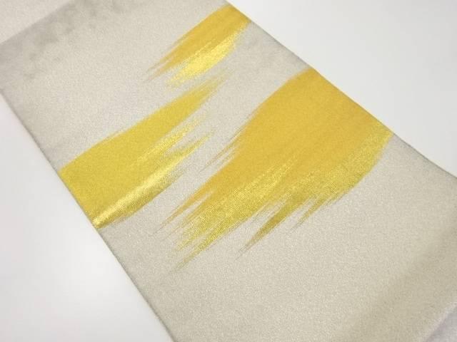 【IDnet】 綴れ霞模様織り出し袋帯【リサイクル】【中古】【着】