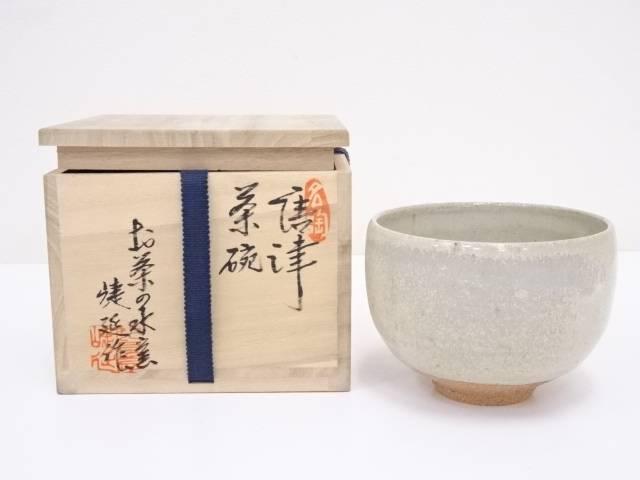 【IDnet】 唐津焼 捷延造 茶碗【中古】【道】