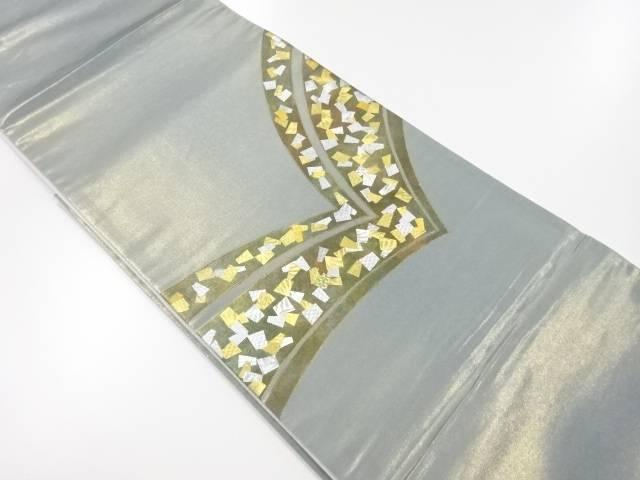 【IDnet】 金彩箔散らし模様袋帯【リサイクル】【中古】【着】