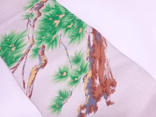 【IDnet】 綴れ松模様織出し袋帯【リサイクル】【中古】【着】