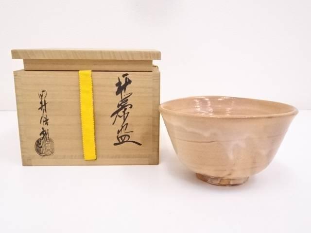 【IDnet】 萩焼 田村悟朗造 茶碗【中古】【道】