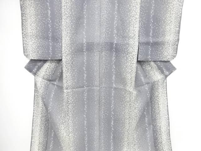 【IDnet】 紗紬箔散らしに花弁模様着物【リサイクル】【中古】【着】