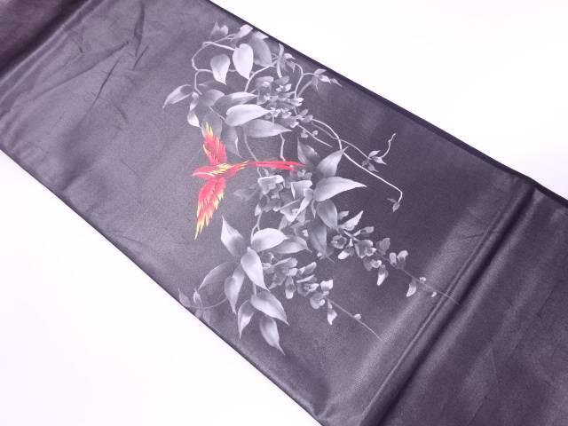 【IDnet】 藤に鳥模様袋帯【リサイクル】【中古】【着】
