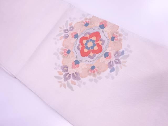 【IDnet】 綴れ華紋模様織出し袋帯【リサイクル】【中古】【着】