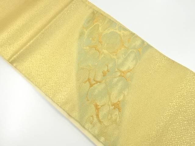 【IDnet】 未使用品 本金水面模様織り出し袋帯【リサイクル】【着】
