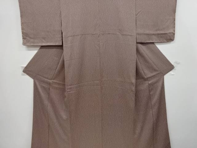 【IDnet】 板締め絞り抽象模様小紋着物【リサイクル】【中古】【着】
