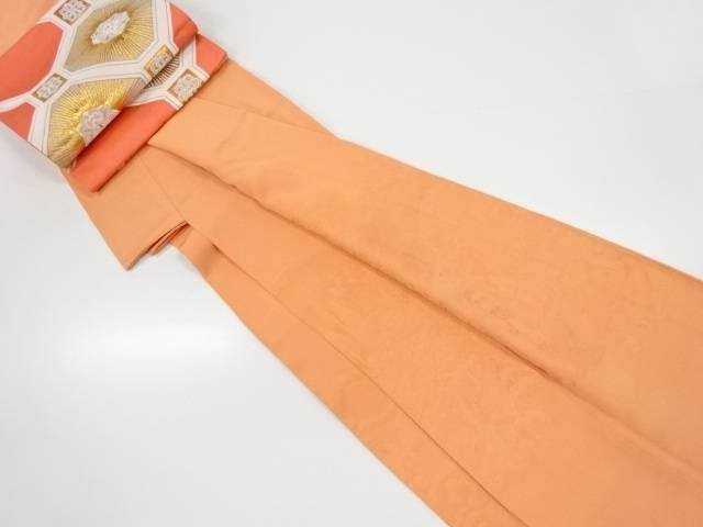 【IDnet】 寺院風景模様織り出し一つ紋付け下げ色無地着物・袋帯セット【リサイクル】【中古】【着】