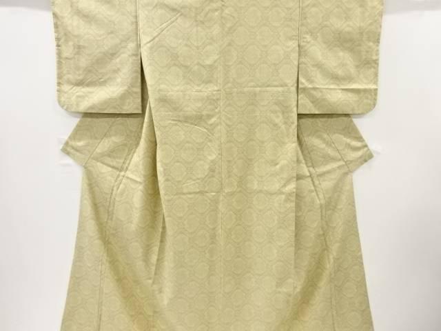 【IDnet】 有栖川紋様織出手織り紬着物【リサイクル】【中古】【着】
