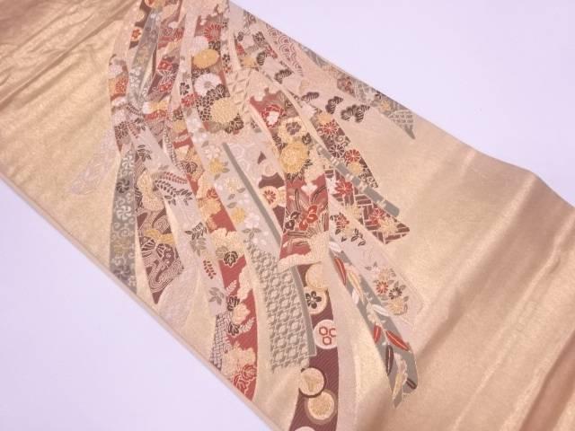 【IDnet】 豊彩能衣文織出し袋帯【リサイクル】【中古】【着】