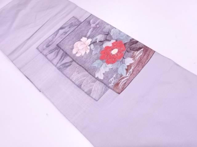 【IDnet】 すくい織花鳥模様織出し袋帯【リサイクル】【中古】【着】
