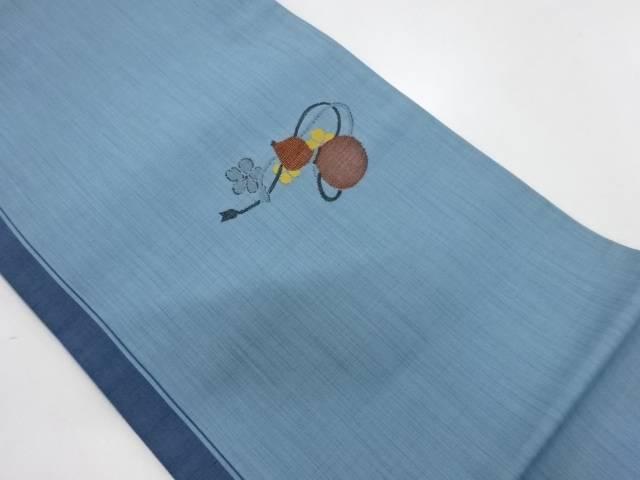 【IDnet】 瓢箪模様織出し洒落袋帯【リサイクル】【中古】【着】