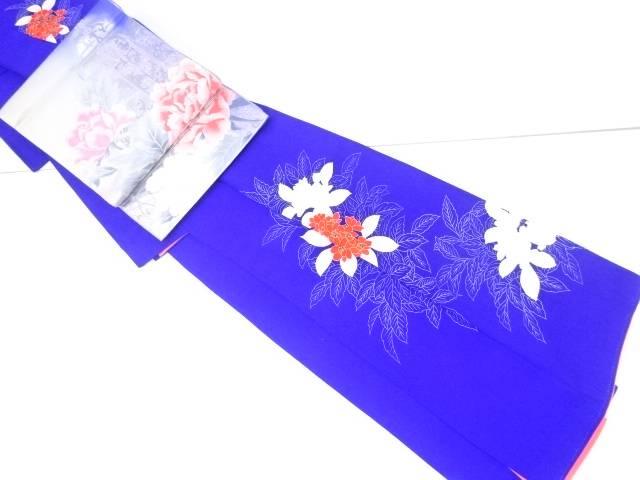 【IDnet】 花模様刺繍訪問着 袋帯セット【リサイクル】【中古】【着】