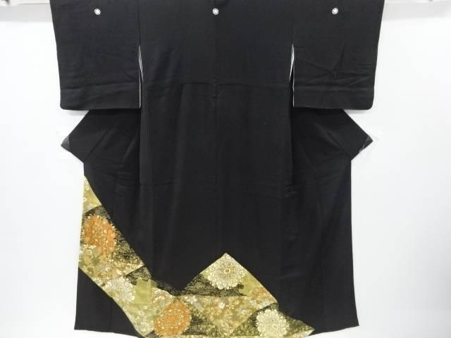 【IDnet】 金彩切りばめ風華紋更紗模様刺繍留袖(比翼付き)【リサイクル】【中古】【着】