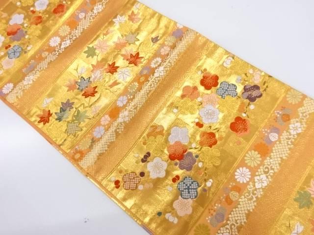【IDnet】 春秋彩麗文織出し袋帯【リサイクル】【中古】【着】