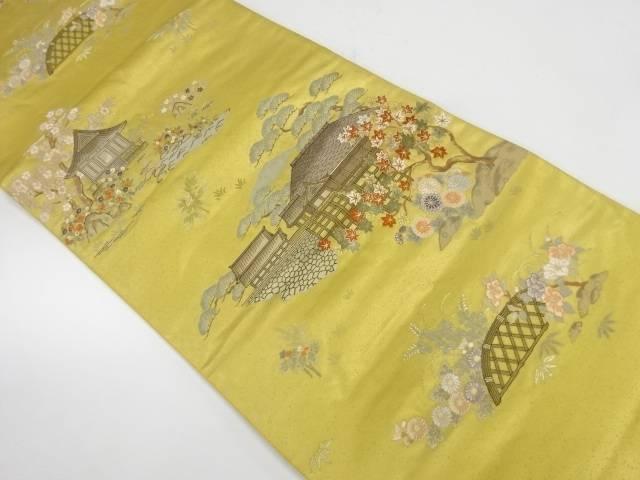 【IDnet】 古代九百錦洛北名園織出し袋帯【リサイクル】【中古】【着】