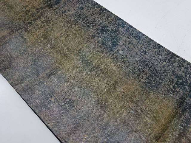 【IDnet】 未使用品 引箔抽象模様袋帯【リサイクル】【着】