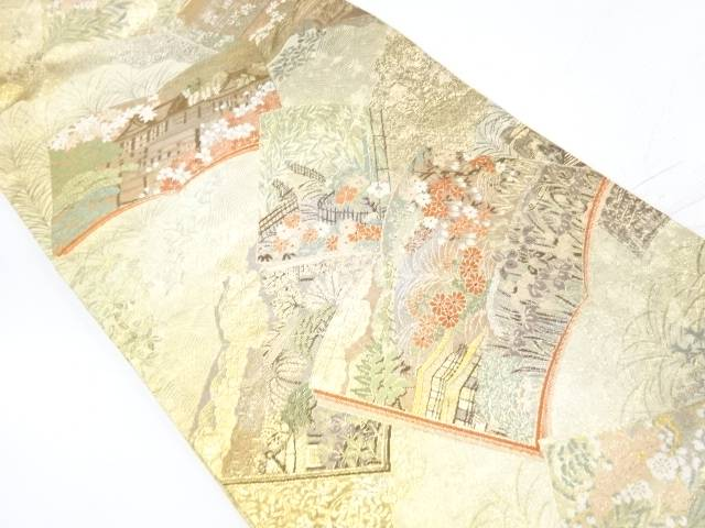 【IDnet】 京百景模様織出し袋帯【リサイクル】【中古】【着】