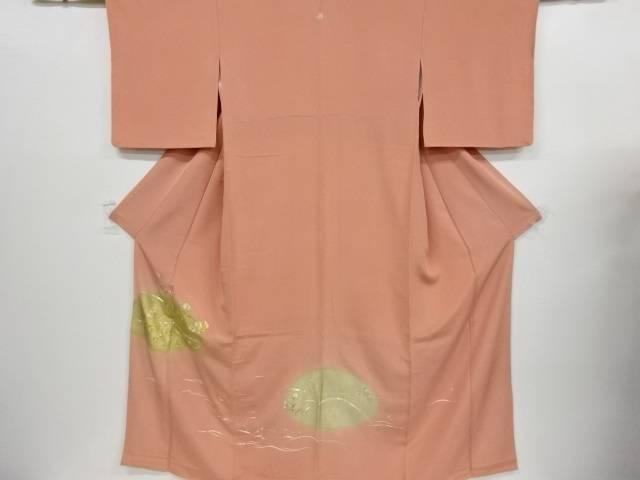 【IDnet】 菊模様刺繍一つ紋色留袖【リサイクル】【中古】【着】