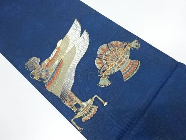 【IDnet】 エジプト更紗模様織出し袋帯【リサイクル】【中古】【着】