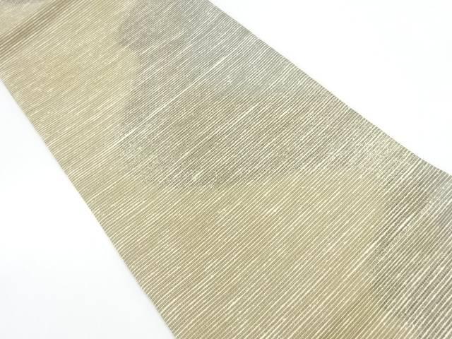 【IDnet】 抽象模様織出し紬袋帯【リサイクル】【中古】【着】