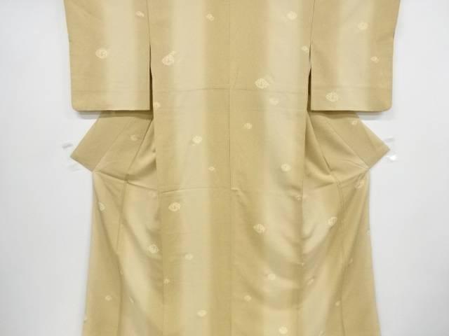 【IDnet】 金彩のり散らしに抽象模様暈し小紋着物【リサイクル】【中古】【着】