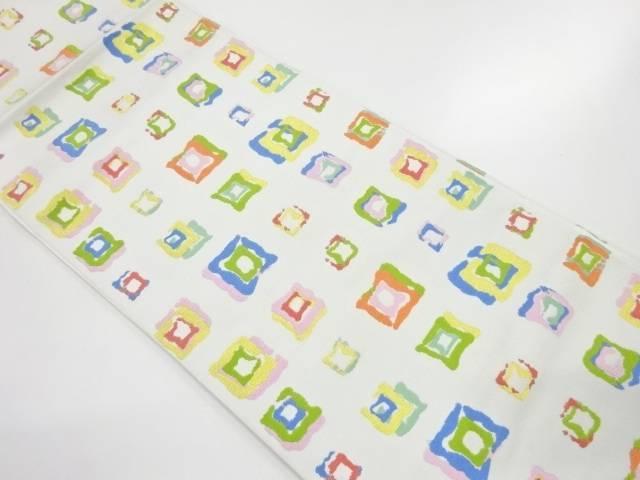 【IDnet】 未使用品 龍村美術織物たつむら製 遊形文織出し本袋帯(未仕立て)【リサイクル】【着】