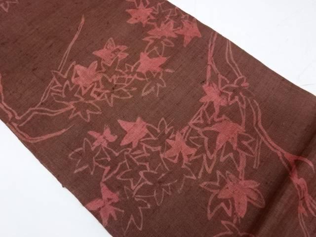 【IDnet】 紅葉模様袋帯【リサイクル】【中古】【着】