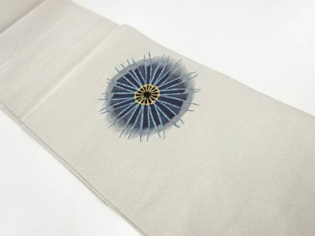 【IDnet】 綴れ花模様織出し袋帯【リサイクル】【中古】【着】