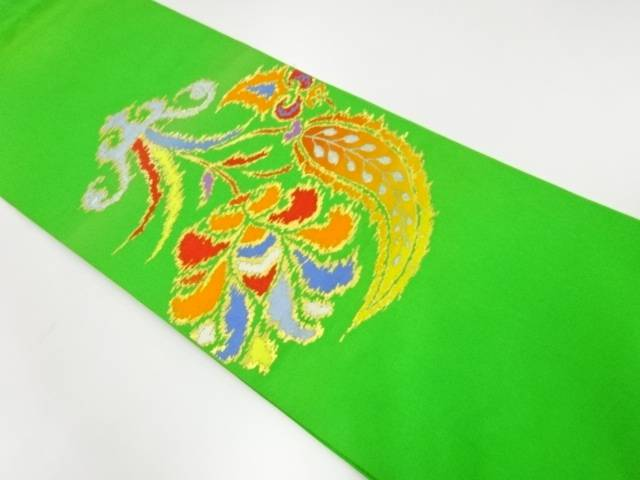 【IDnet】 たつむら製 手織りペルシャ華紋織出し袋帯【リサイクル】【中古】【着】