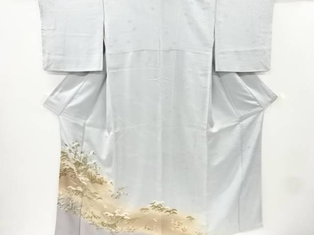【IDnet】 金彩友禅波に槌車群鶴模様一つ紋色留袖【リサイクル】【中古】【着】