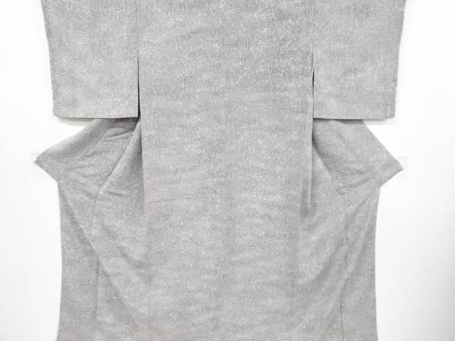 【IDnet】 縮緬地のり散らし模様暈し小紋着物【リサイクル】【中古】【着】