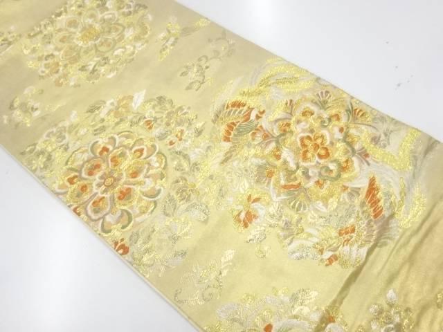 【IDnet】 木野織物製 華寿盛麗文織出し袋帯【リサイクル】【中古】【着】