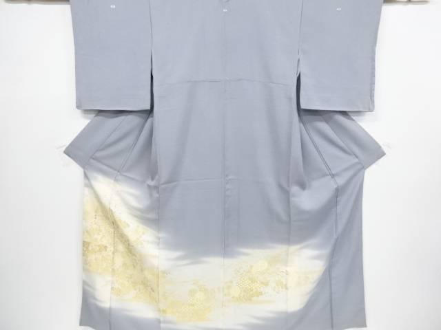 【IDnet】 寿光織桐菊模様織り出し三つ紋色留袖【リサイクル】【中古】【着】
