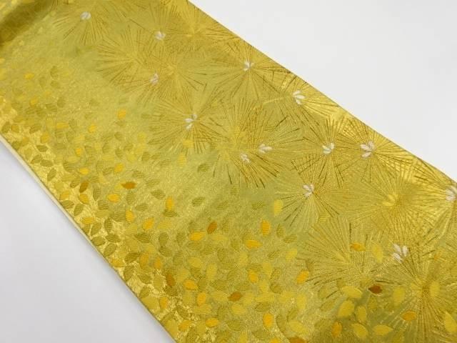 【IDnet】 本金松葉に桜模様織出し袋帯【リサイクル】【中古】【着】