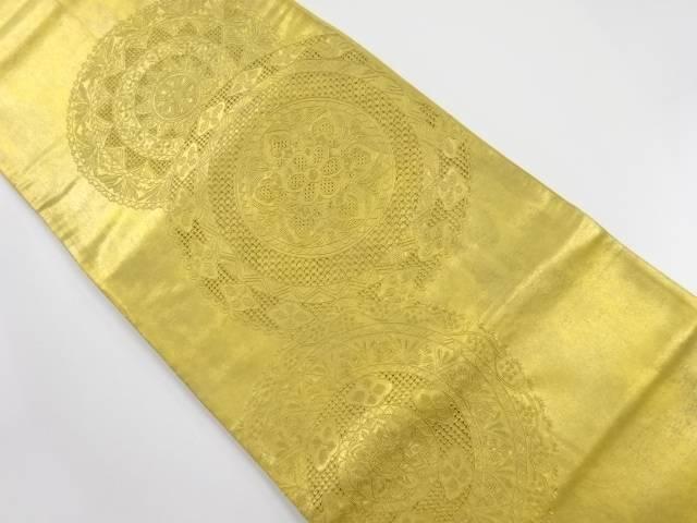 【IDnet】 本金 汕頭蘇州刺繍 華紋袋帯【リサイクル】【中古】【着】
