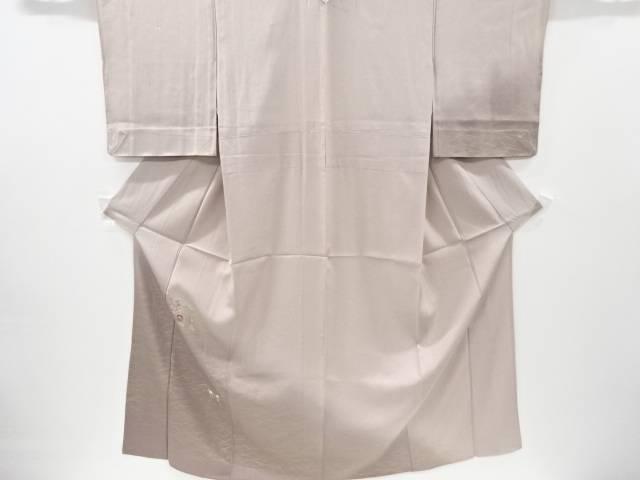 【IDnet】 金銀彩菊模様刺繍単衣訪問着【リサイクル】【中古】【着】