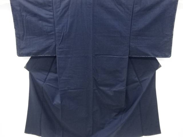 【IDnet】 未使用品 仕立て上がり 手織り真綿ひげ紬男物着物アンサンブル【着】