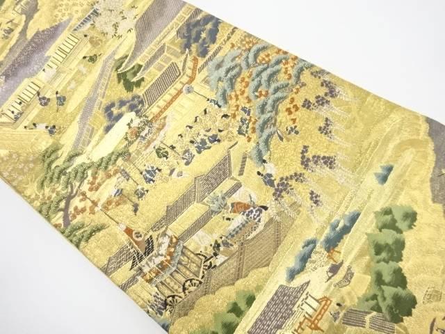 【IDnet】 本金 祇園祭模様織り出し袋帯【リサイクル】【中古】【着】