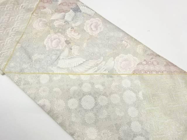 【IDnet】 綴れ花鳥に古典柄模様袋帯【リサイクル】【中古】【着】
