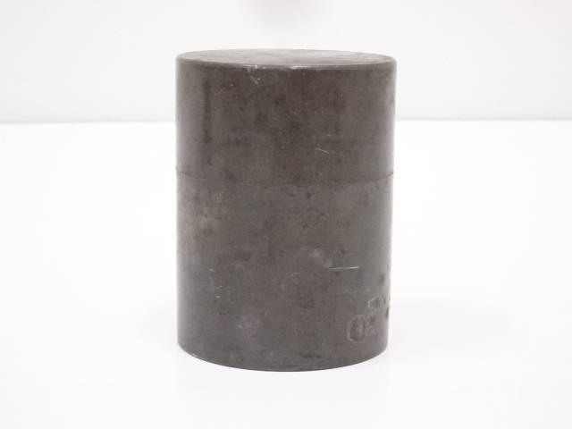 【IDnet】 古物 錫茶筒(426g)【中古】【道】