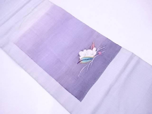 【IDnet】 袋帯 すくい織 花文【リサイクル】【中古】【着】