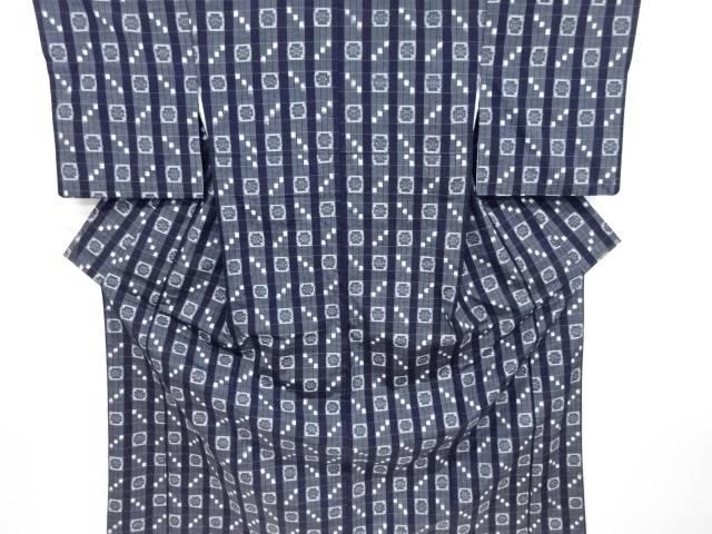 【IDnet】 本場琉球絣手織り紬着物【リサイクル】【中古】【着】