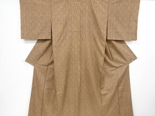【IDnet】 本場琉球絣手織り真綿紬着物【リサイクル】【中古】【着】