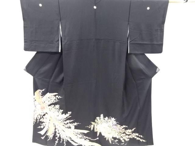 【IDnet】 金彩束ね熨斗に菊梅模様留袖(比翼付き)【リサイクル】【中古】【着】