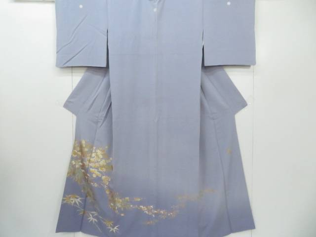 【IDnet】 色留袖 落款入り 作家物 『和田光正』作 訪問着仕立て 松竹梅と南天文 着物【リサイクル】【中古】【着】