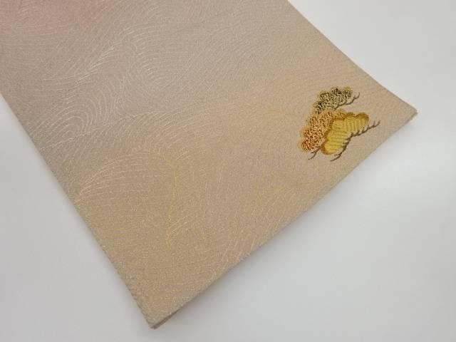 【IDnet】 未使用品 綴れ松模様織出し袋帯【リサイクル】【着】