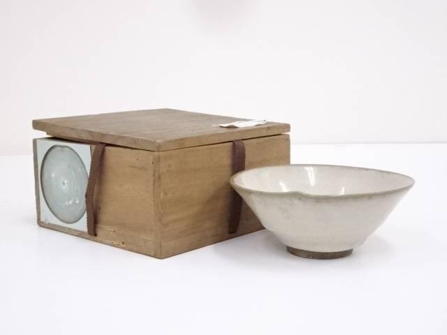 【IDnet】 古物 萩焼 茶碗(保護箱)【中古】【道】