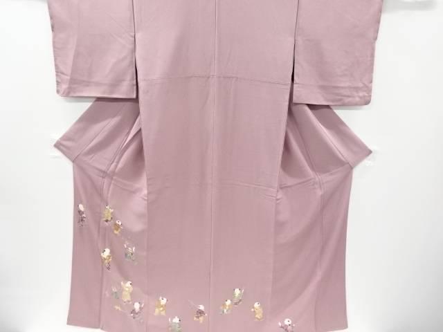 【IDnet】 太田孝作 唐子模様一つ紋色留袖【リサイクル】【中古】【着】