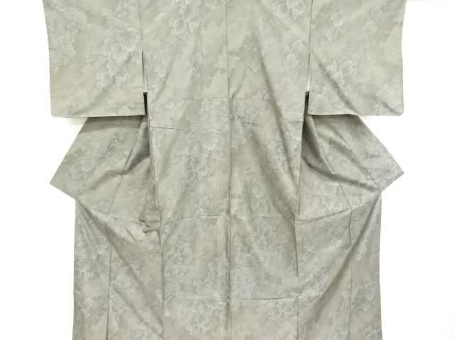 【IDnet】 未使用品 葡萄模様織り出し本場大島紬着物【リサイクル】【着】