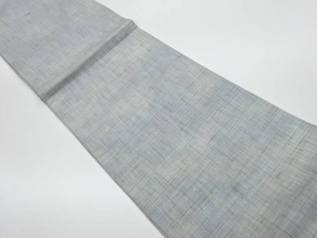【IDnet】 未使用品 変わり横段模様織出し全通洒落袋帯【リサイクル】【着】